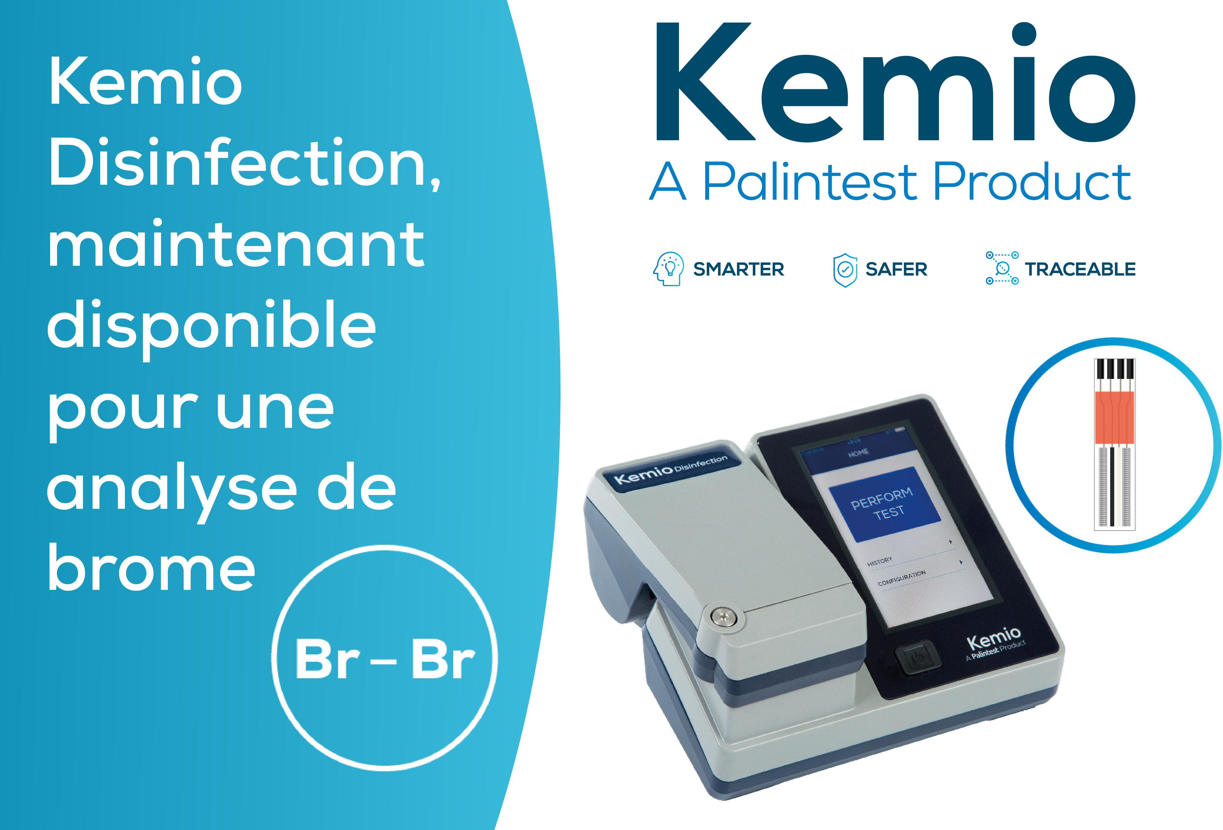 Kemio Disinfection, maintenant disponible pour une analyse de brome