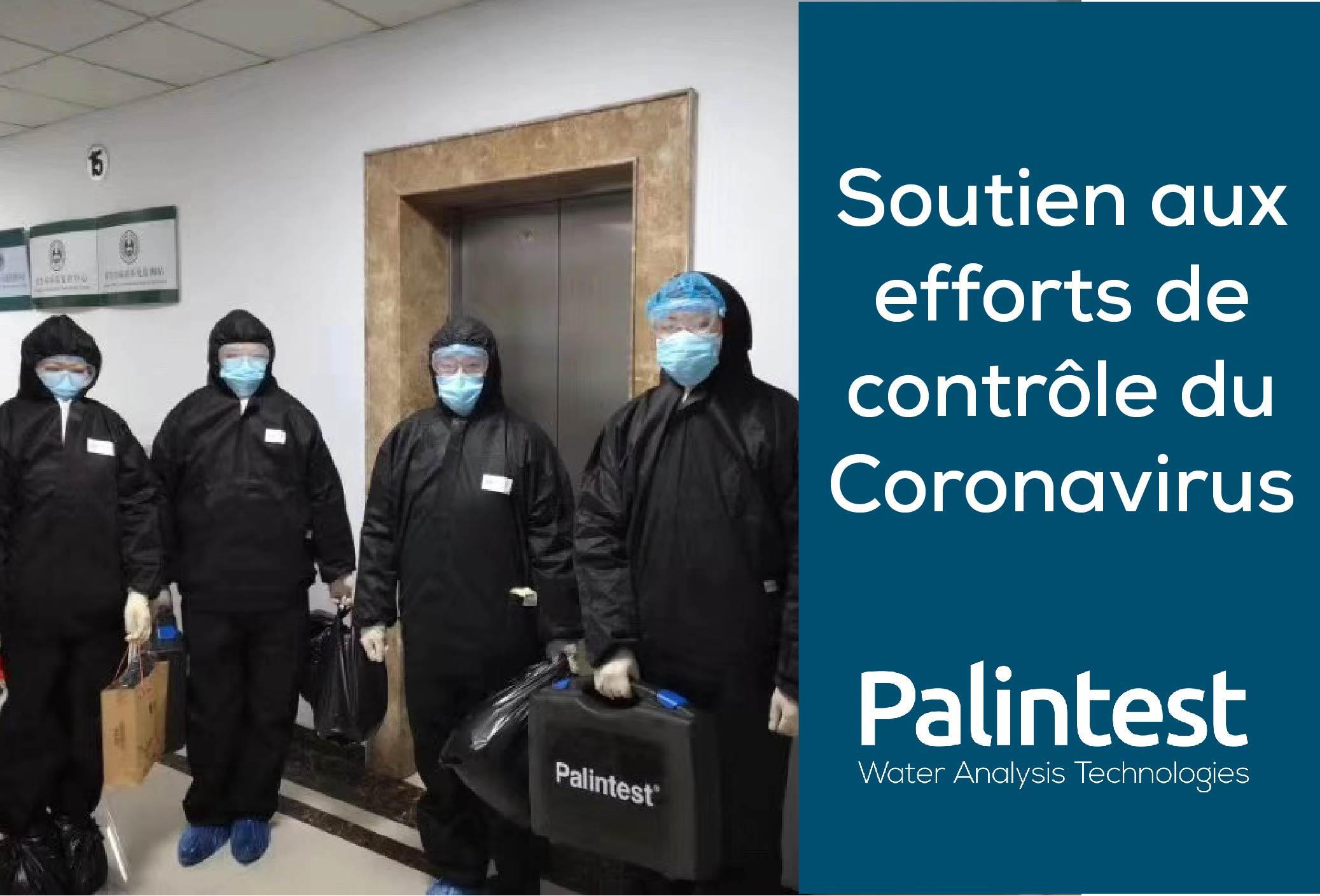 Soutien aux efforts de contrôle du coronavirus